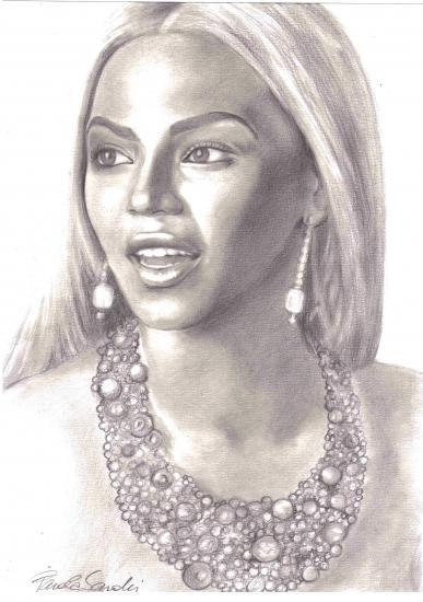 Beyonce par pamelasea